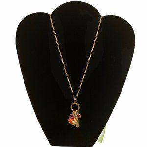 Vera Bradley CLEMENTINE Charm Necklace Jewelry NWT